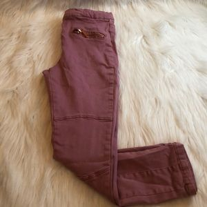 Girls Biker Pants